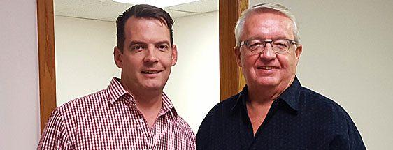IZsam founders Dan Bennett Sr and Jr.